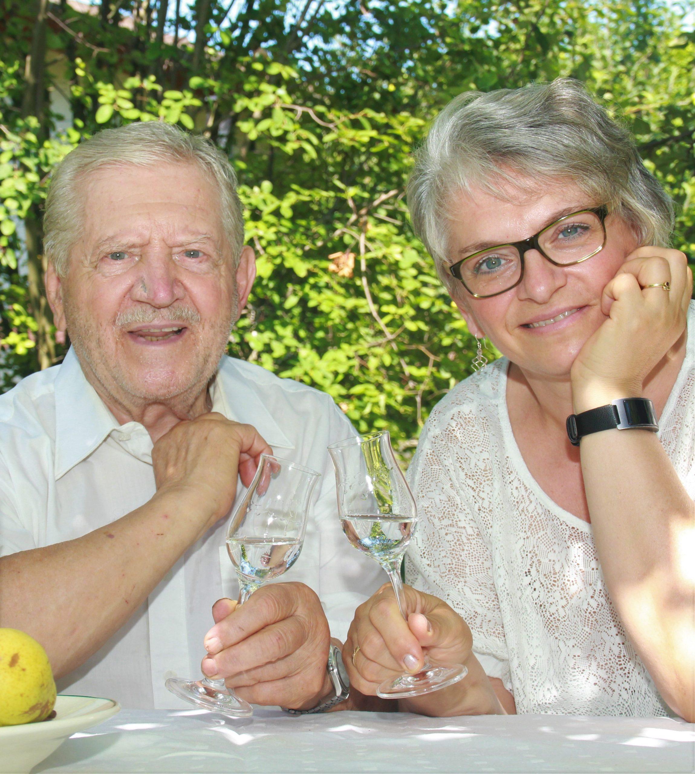 Heinz Stainer und Brigitte Bürger